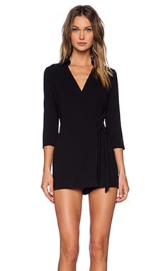 Celeste Romper in Black