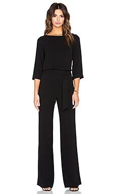 Diane von Furstenberg Gwynne Jumpsuit in Black