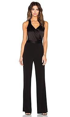Diane von Furstenberg Layana Jumpsuit in Black