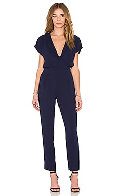 Diane von Furstenberg Emerson Jumpsuit in Midnight