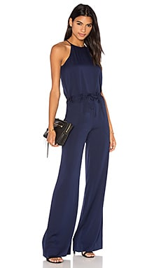 Diane von Furstenberg Davin Jumpsuit in Midnight