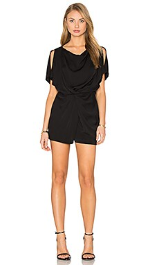 Maxinne Romper in Black