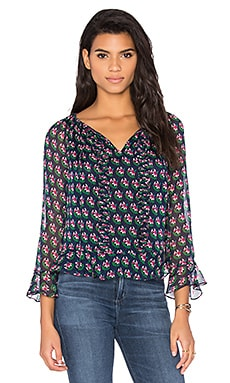 Simonia Top en Zen Floral Midnight