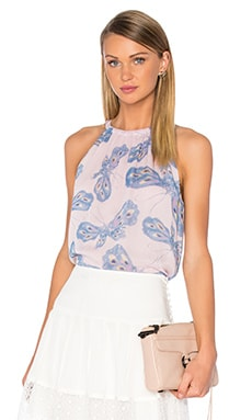 Pania Tank in Papillon Ombre Periwinkle