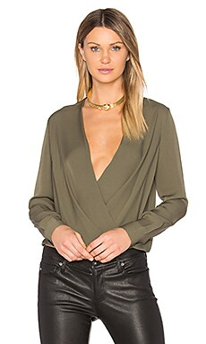 Marci Blouse in Olive