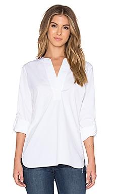 Diane von Furstenberg Esti Blouse in White