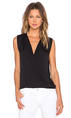 Diane von Furstenberg Eva Top in Black