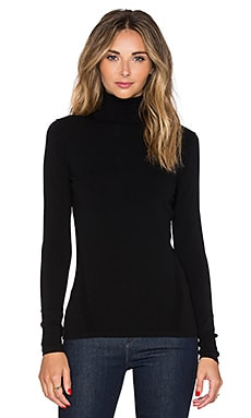 Jelena Underpinning Turtleneck in Black