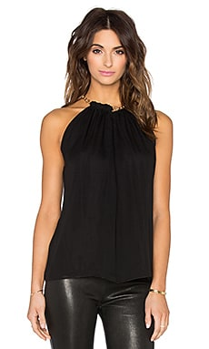 Diane von Furstenberg Aubrey Two Halter in Black