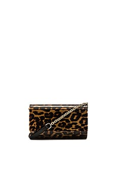 Diane von Furstenberg Twilight Crossbody in Vintage Leopard Natural