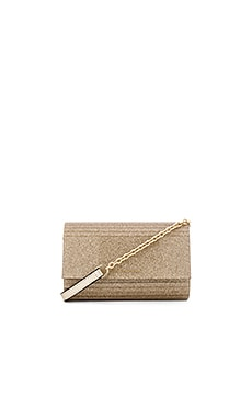 Diane von Furstenberg Twilight Glitter Crossbody in Sand