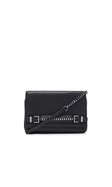 Diane von Furstenberg Iggy Clutch in Black