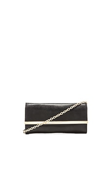 Diane von Furstenberg Voyage After 6 Clutch in Black