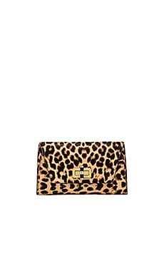Diane von Furstenberg Gallery Bellini Clutch in Leopard