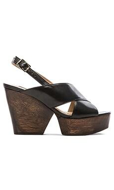 Diane von Furstenberg Liberty Sandal in Black