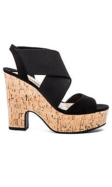 Diane von Furstenberg Deetra Heel in Black