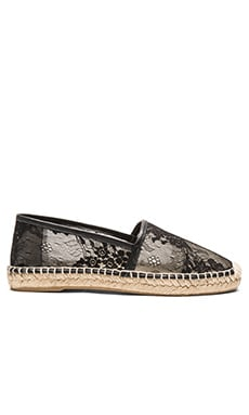 Cairo Espadrille in Black