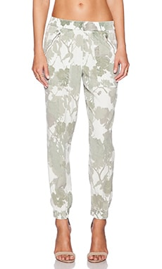 DWP Brody Jogger in Aged White Green