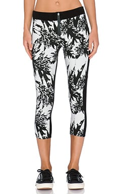 DWP Slater Capri in Black Shattered Floral