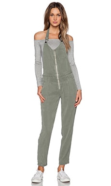 DWP Tucker Overall in Fatigue Green
