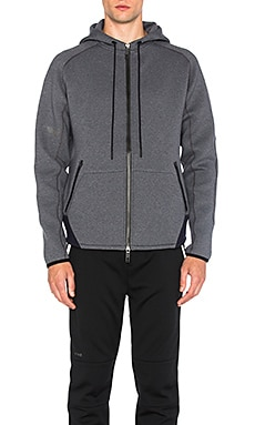 Kandel Mega Full Zip Hoodie in Cloudburst Grey