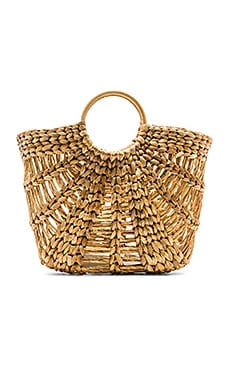 Large Greek Raffia Bag
