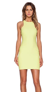 Elizabeth and James Ravine Dress in Lime