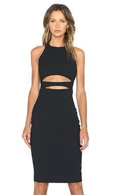Elizabeth and James Cali Dress in Black