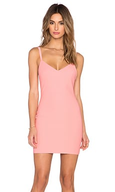 Elizabeth and James Treton Dress in Flamingo Pink