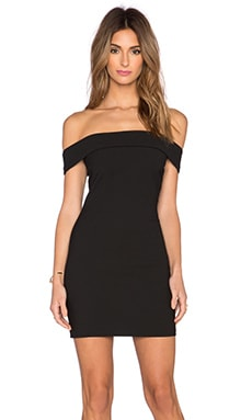 Elizabeth and James Kristelle Dress in Black