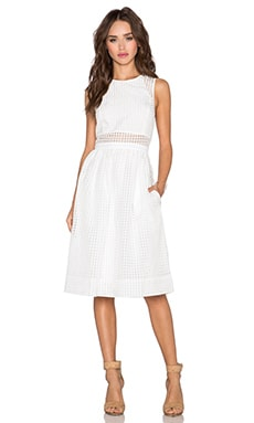 Elizabeth and James Heidi Dress in White