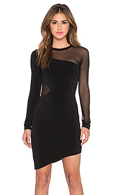 Elizabeth and James Ziomara Dress in Black