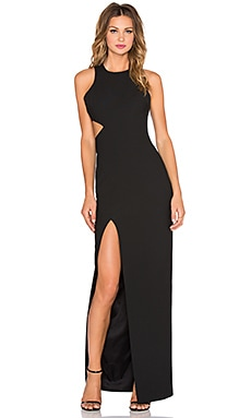 Elizabeth and James Guilia Maxi Dress in Black