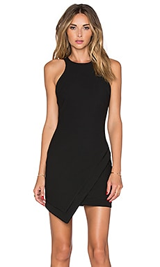 Elizabeth and James Mariella Dress in Black