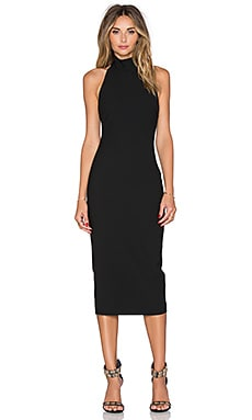 Elizabeth and James Kara Dress in Black