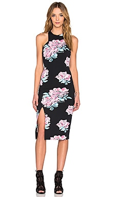 Elizabeth and James Leya Dress in Black Multi