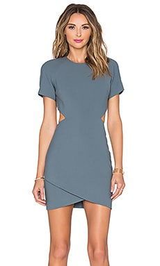 Elizabeth and James Skylyn Dress in Shale Blue