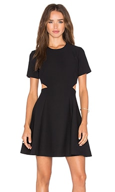 Elizabeth and James Leonie Dress in Black