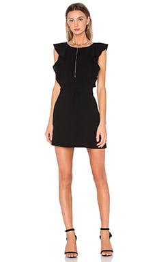 Elizabeth and James Millette Dress in Black