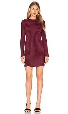Penny Dress in Bordeaux