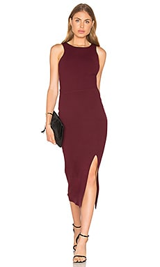 Ritter Dress in Bordeaux