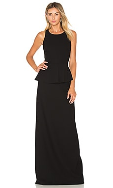 Elizabeth and James Vivie Gown in Black