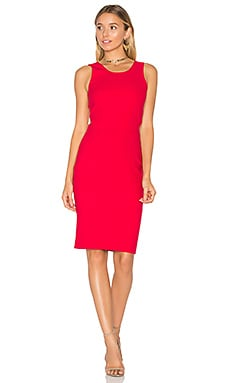 Emmy Dress in Cardinal