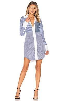 Jay Shirt Dress in Multi