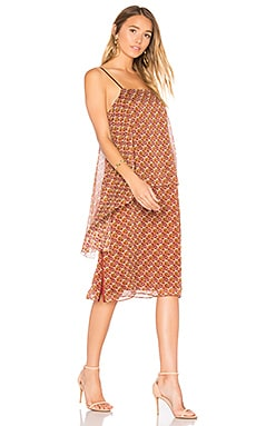 Josie Dress in Orange Multi
