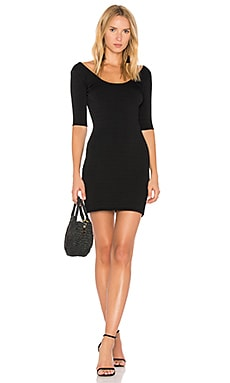 Lydia Scoop Back Mini Dress