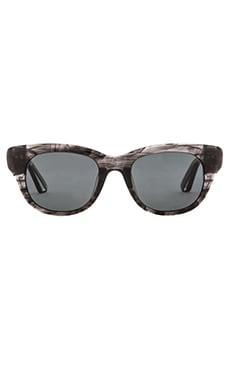 Elizabeth and James Anson Sunglasses in Black Smoke