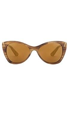 Elizabeth and James Fillmore Sunglasses in Olive Demi