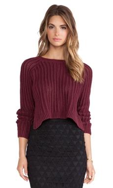 High Slit Pullover