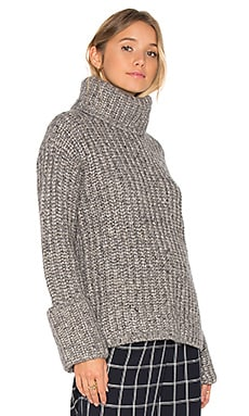 Clayton Sweater en Gris Chiné Moyen